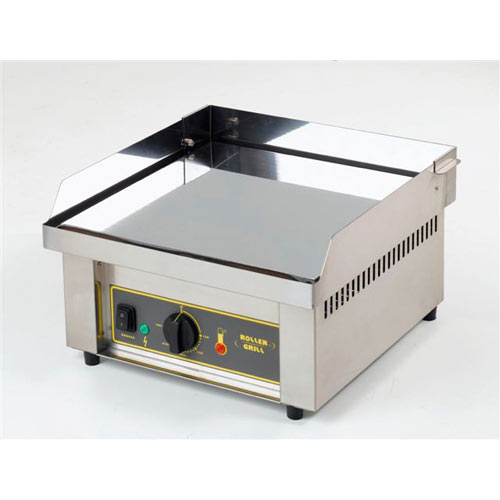 Equipex Sodir Countertop Electric Griddles, Chrome PCC-400
