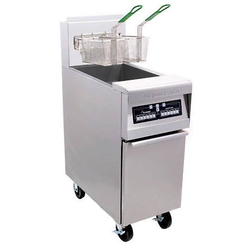 Frymaster Natural gas, <br />high efficiency, open pot fryer H55A