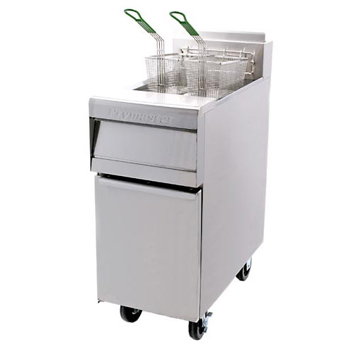 Frymaster Natural gas, open pot fryer MJ35
