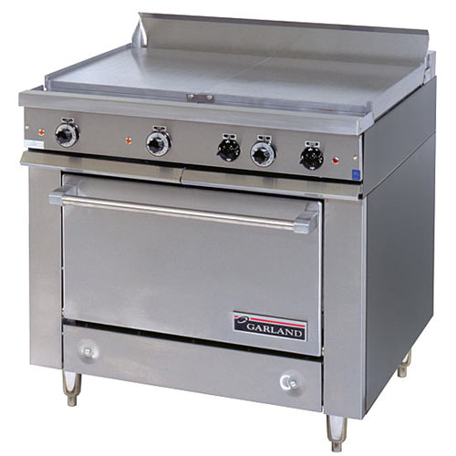 Garland E Series Heavy Duty All Purpose Top Electric Range - Storage Base 36ES36