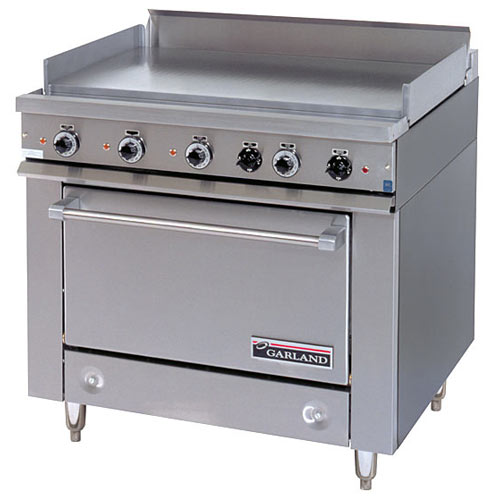 Garland E Series Heavy Duty All Purpose Top Electric Range - Storage Base 36ES38