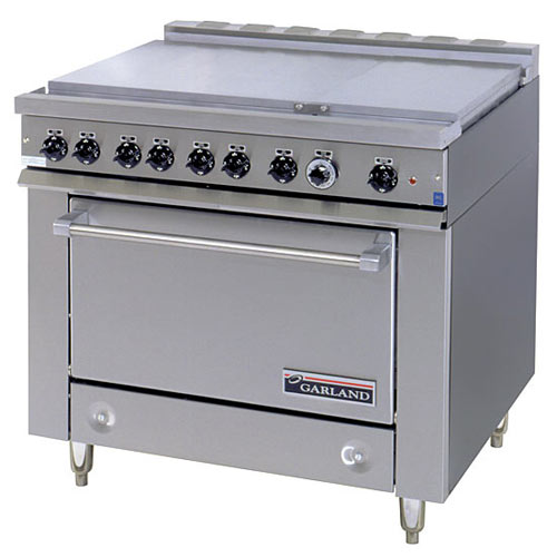 Garland E Series Heavy Duty 6 Boil Sections Top Electric Range - Storage Base 36ES39