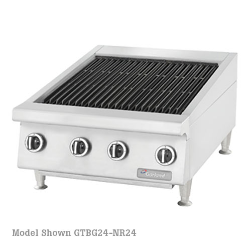 "Garland Heavy Duty 24"" Gas Radiant Char-Broilers w/ Non-Adjustable Grates GTBG24-NR24"