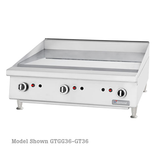 "Garland Heavy Duty 60"" Gas Griddle - Thermostat Control GTGG60-GT60M"