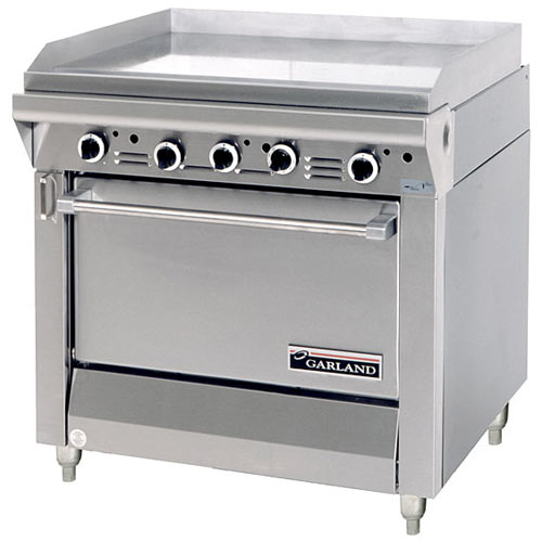 Garland Master Series Heavy Duty Griddle Top Gas Range - Standard Oven M47R