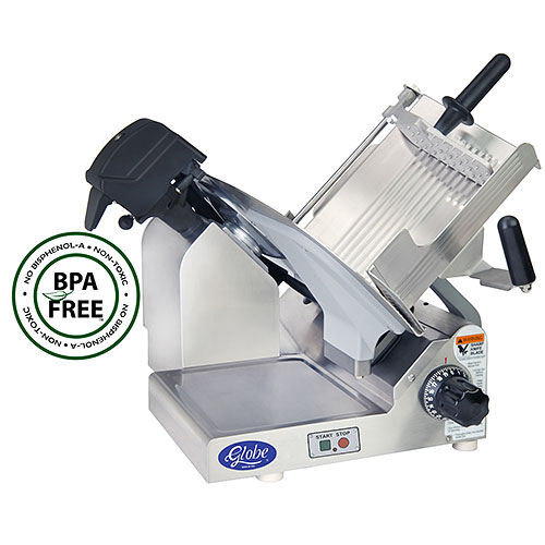"Globe Protech™ Premium Heavy-Duty Manual Slicer - 13"" 4600N"
