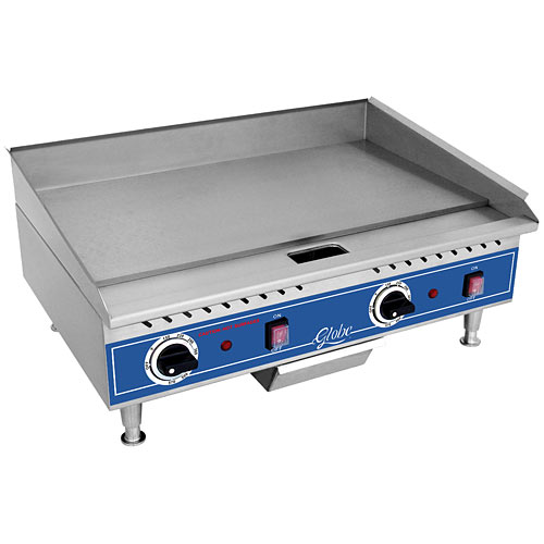 "Globe 24"" Electric Countertop Griddle PG24E"