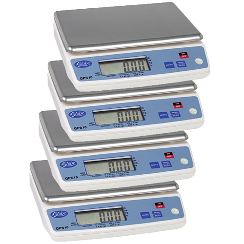 Globe Portion Control Scale - Value Pack of 4 GPS10-4