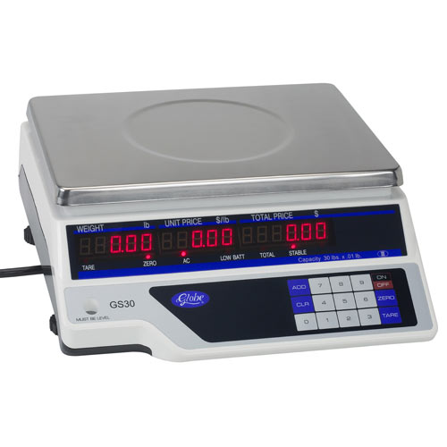 Globe Legal for Trade Price Computing Scale GS30