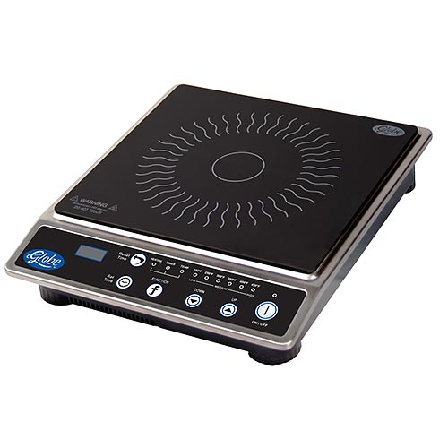 Globe Countertop Induction Range-1800 Watts IR1800