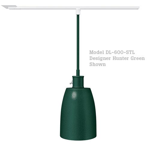 Hatco Decorative Heat Lamp Shade 600 - ST Mount w/ Lower Switch DL-600-STL