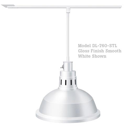 Hatco Decorative Heat Lamp Shade 760 - ST Mount w/ Lower Switch DL-760-STL