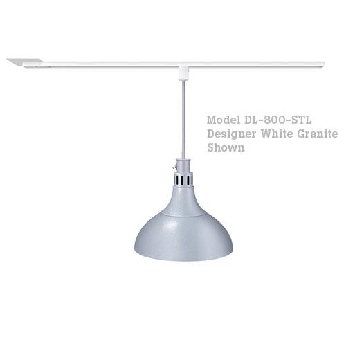 Hatco Decorative Heat Lamp Shade 800 - ST Mount w/ Lower Switch DL-800-STL