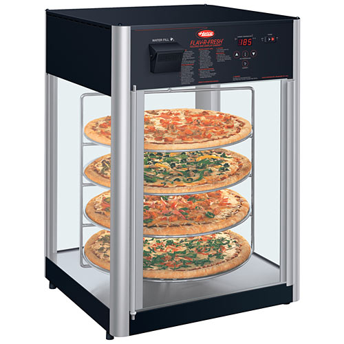 Hatco Flav-R-Fresh® Impulse Display Cabinet, 2 doors w/ circular rack & motor FDWD-2-120-QS