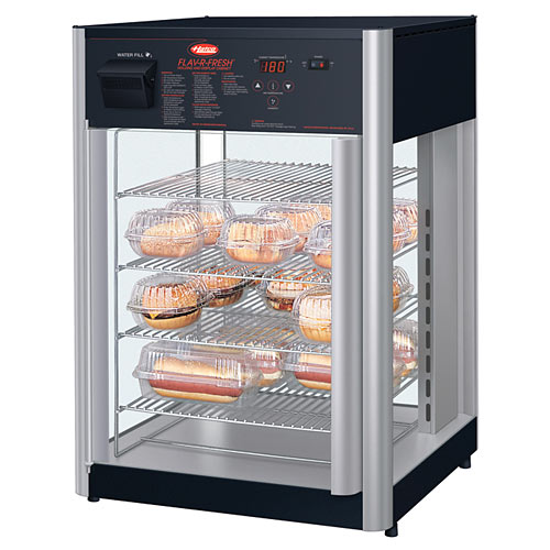 Hatco Flav-R-Fresh® Impulse Display Cabinet, 2 doors w/ multipurpose rack FDWD-2X