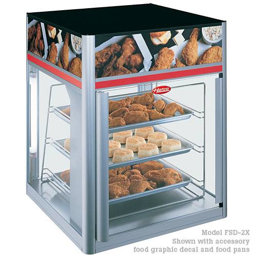Hatco Flav-R-Savor® Tall Holding & Display Cabinets, 2 door w/o revolving racks FSD-2X