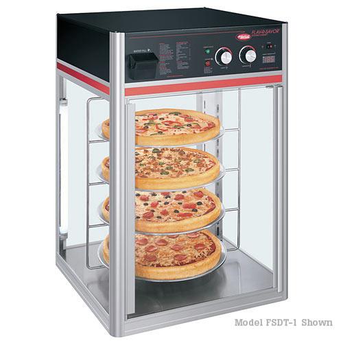 Hatco Flav-R-Savor® 4 tier Circle Rack, Single Door w/ Revolving Rack FSDT-1-120-QS