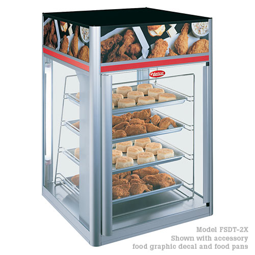 Hatco Flav-R-Savor® 4 tier Pan Rack, Two Door  FSDT-2X