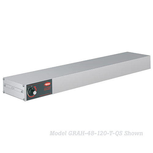 "Hatco Glo-Ray® Infrared Strip Heaters - 24"" Stainless High Watt GRH-24"