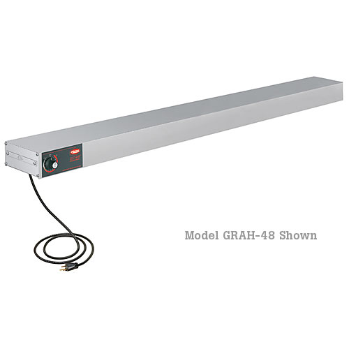 "Hatco Glo-Ray® Infrared Strip Heaters - 60"" Stainless High Watt GRH-60"