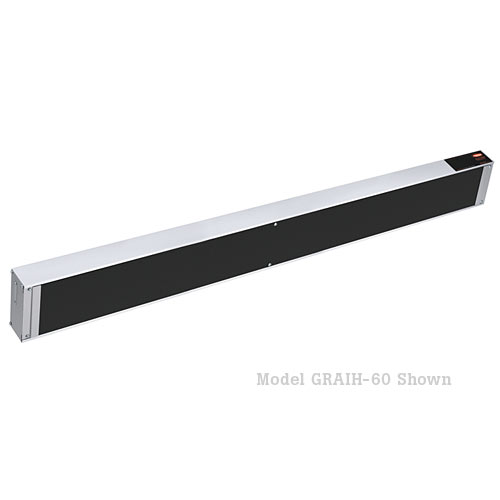 "Hatco Glo-Ray Infra-Black Strip Heaters-42"" GRAIH-42"