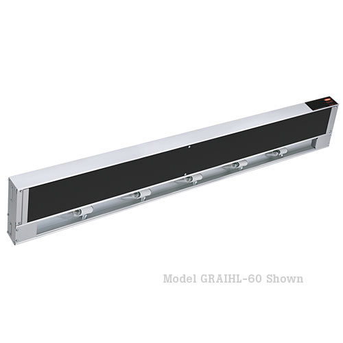 "Hatco Glo-Ray Infra-Black Strip Heaters with Light-72"" GRAIHL-72"