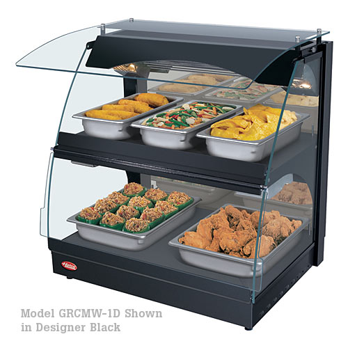 Hatco Curved Merchandising Warmer Dual Shelf GRCMW-1D