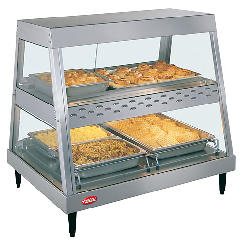 Hatco Heated Display Case Dual Shelf - 2 Pan GRHD-2PD