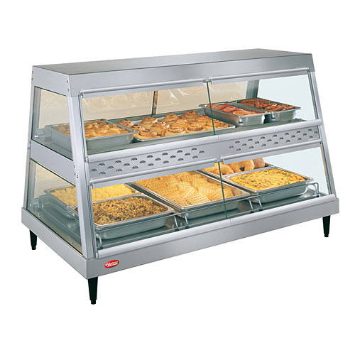 Hatco Heated Display Case Dual Shelf - 3 Pan GRHD-3PD