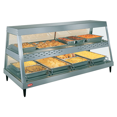Hatco Heated Display Case Dual Shelf - 4 Pan GRHD-4PD