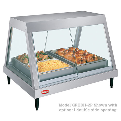 Hatco Heated Display Case Single Shelf- 2 Pan GRHD-2P
