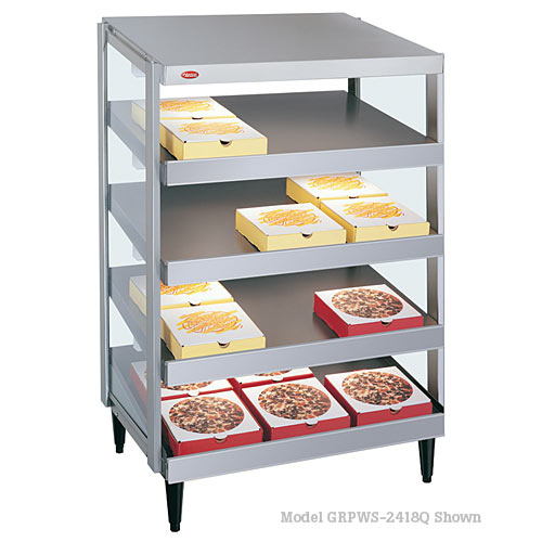 "Hatco Glo-Ray Quad Shelf 24""x18"" Pizza Warmer GRPWS-2418Q"