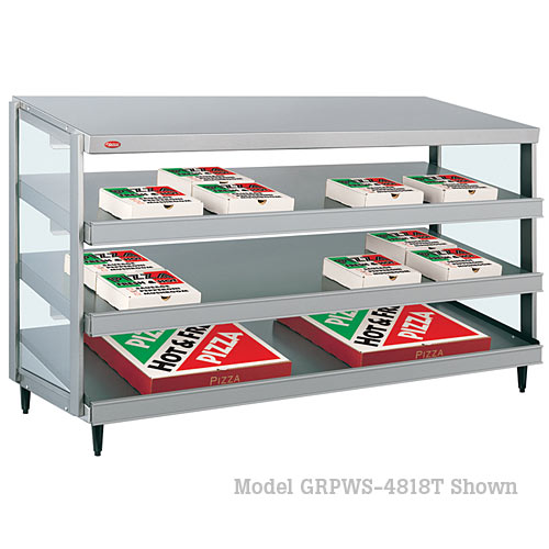 "Hatco Glo-Ray Triple Shelf 48""x18"" Pizza Warmer GRPWS-4818T"