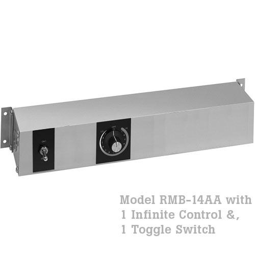 Hatco Remote Control Enclosure,1 Toggle, 1 Infinite w/ Relay -120V RMB-14AA