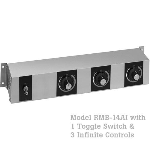 Hatco Remote Control Enclosure, 1 Toggle, 3 Infinite -120V RMB-14AI