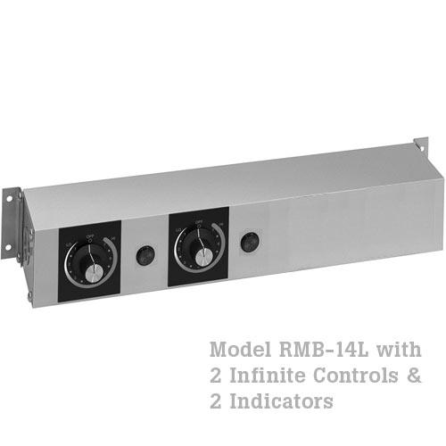 Hatco Remote Control Enclosure, 1 Infinite, 1 Indicator Light-120V RMB-14L