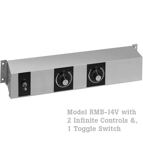Hatco Remote Control Enclosure, 1 Toggle, 2 Infinite -120V RMB-14V