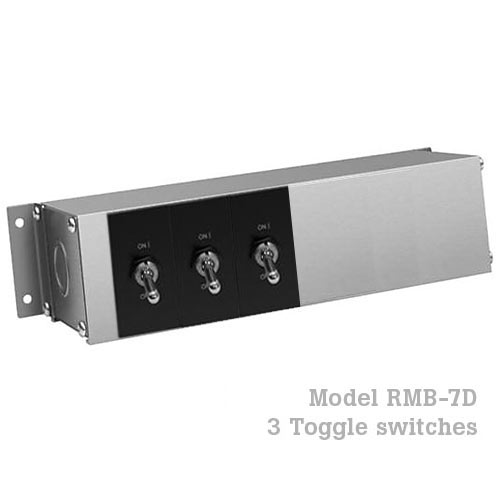 Hatco Remote Control Enclosure, 3 Toggle  RMB-7D