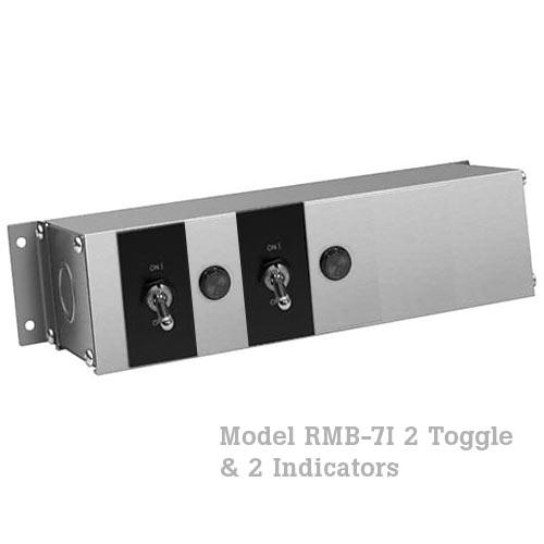 Hatco Remote Control Enclosure, 2 Toggle, 2 Indicator -120V RMB-7I