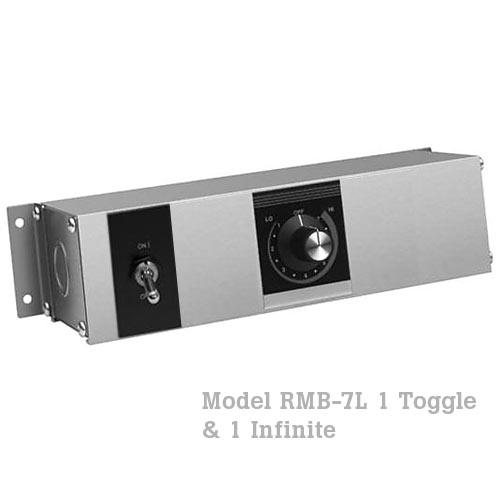 Hatco Remote Control Enclosure, 1 Toggle, 1 Infinite -120V RMB-7L