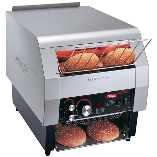 "Hatco Toast Qwik Conveyor Toaster- 3"" Opening- 800 slices phr 208V TQ-800H-208-QS"