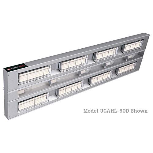 "Hatco Ultra-Glo Ceramic Dual Infared Foodwarmer w/ Lights - 18"" High Watt UGAHL-18D3"