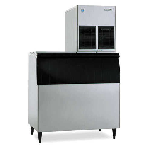 Hoshizaki Cubelet Ice Machines with Bin - 860 lbs F-1001MAH-C/B-700PF/HS-2035 Kit