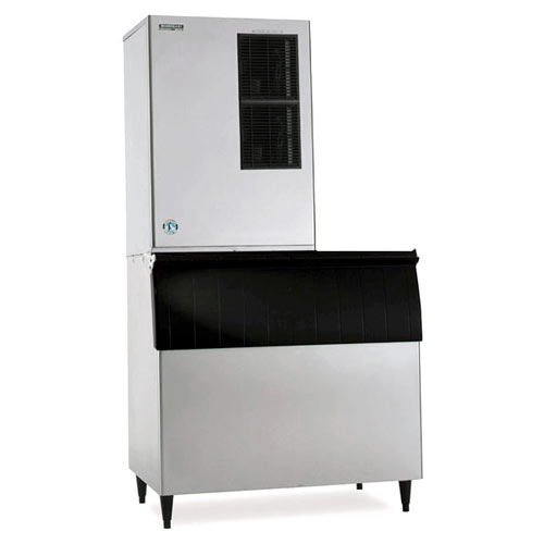 Hoshizaki Air Cooled Cuber Ice Maker with Bin - 1401 lbs KM-1340MAH/B-800PF/HS-2034-2032 Kit