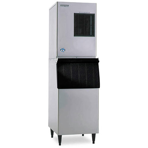 Hoshizaki Air Cooled Cuber Ice Maker with Bin - 352 lbs KM-320MAH/B-300PF