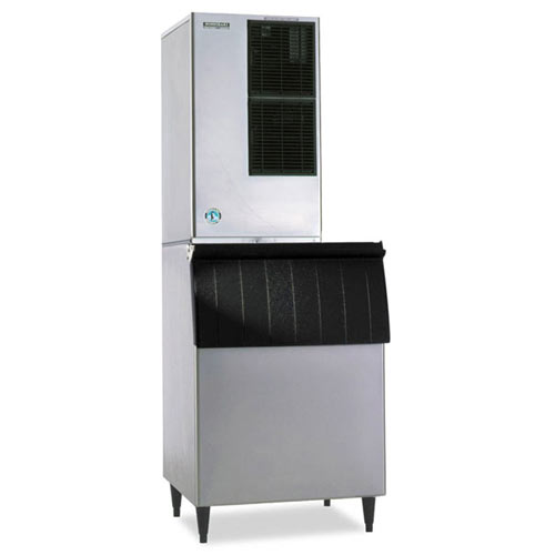 Hoshizaki Air Cooled Cuber Ice Maker with Bin - 680 lbs KM-650MAH/B-500PF/ HS-2033 Kit