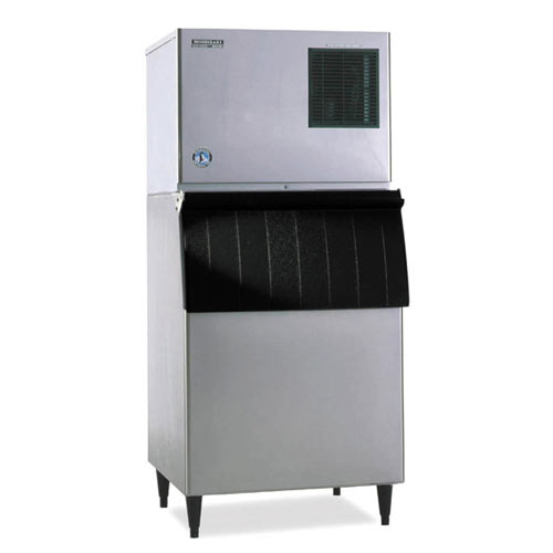 Hoshizaki Air Cooled Cuber Ice Maker with Bin - 314 lbs KML-250MAH/B-250PF