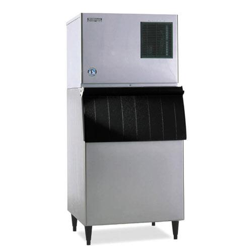 Hoshizaki Air Cooled Cuber Ice Maker with Bin - 314 lbs KML-250MAH/B-250PF