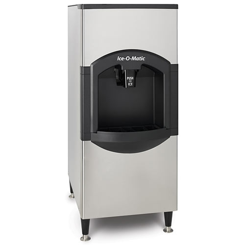 "Ice-O-Matic Hotel Dispenser ONLY 22"" Push-to-dispense CD40022"