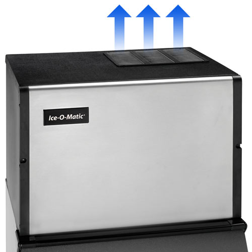 Ice-O-Matic Modular Top Air Full Cube Ice Machine - 506 lbs ICE0400FT